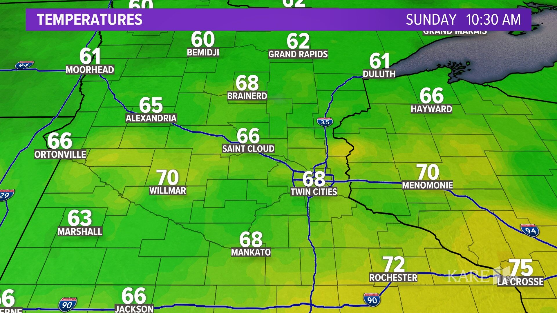 Minnesota Weather On KARE In Minneapolis - St paul weather forecast 10 day