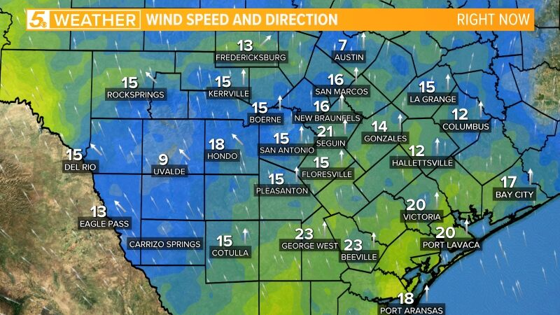 Local Wind Gusts