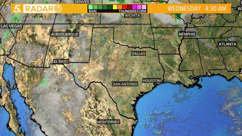 Texas Satellite Radar