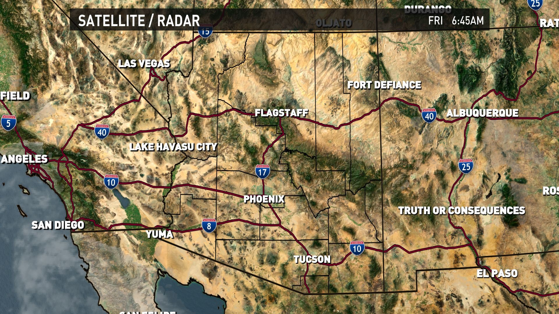 Metro Interactive Radar On 12news In Phoenix