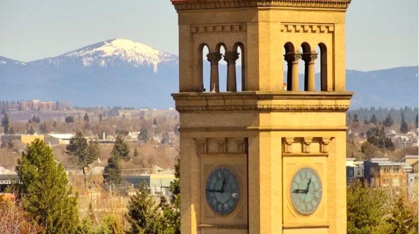 Downtown Spokane Live Cam- sponsored by Coeur d'Alene Casino