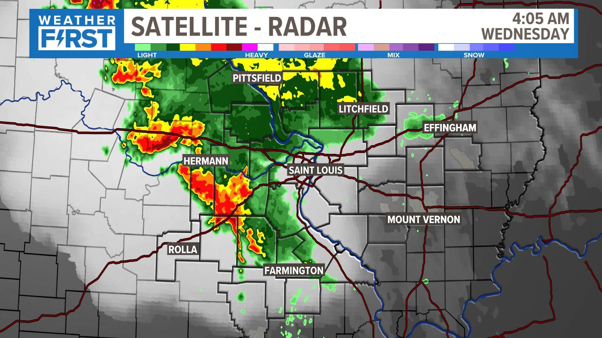 Local Satellite and Radar