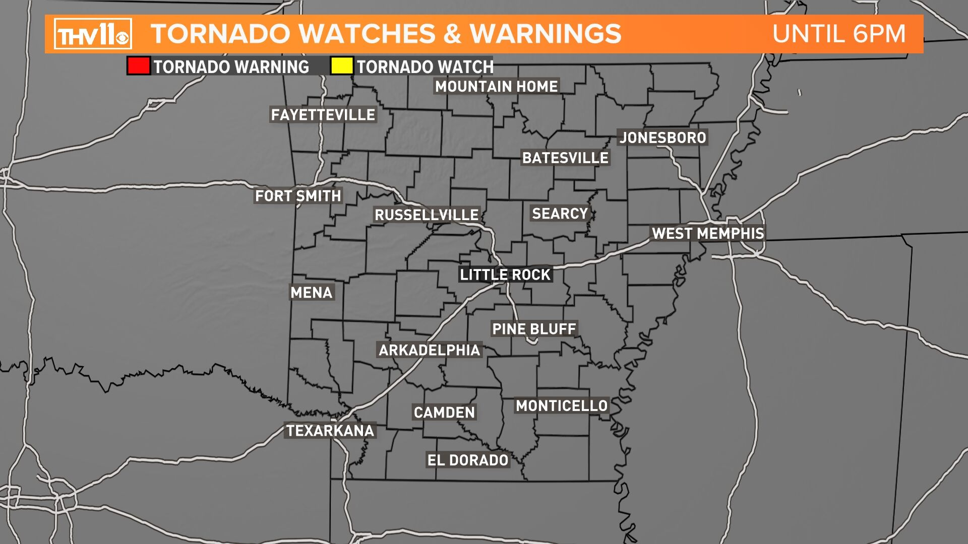 Tornado Watches-Warnings
