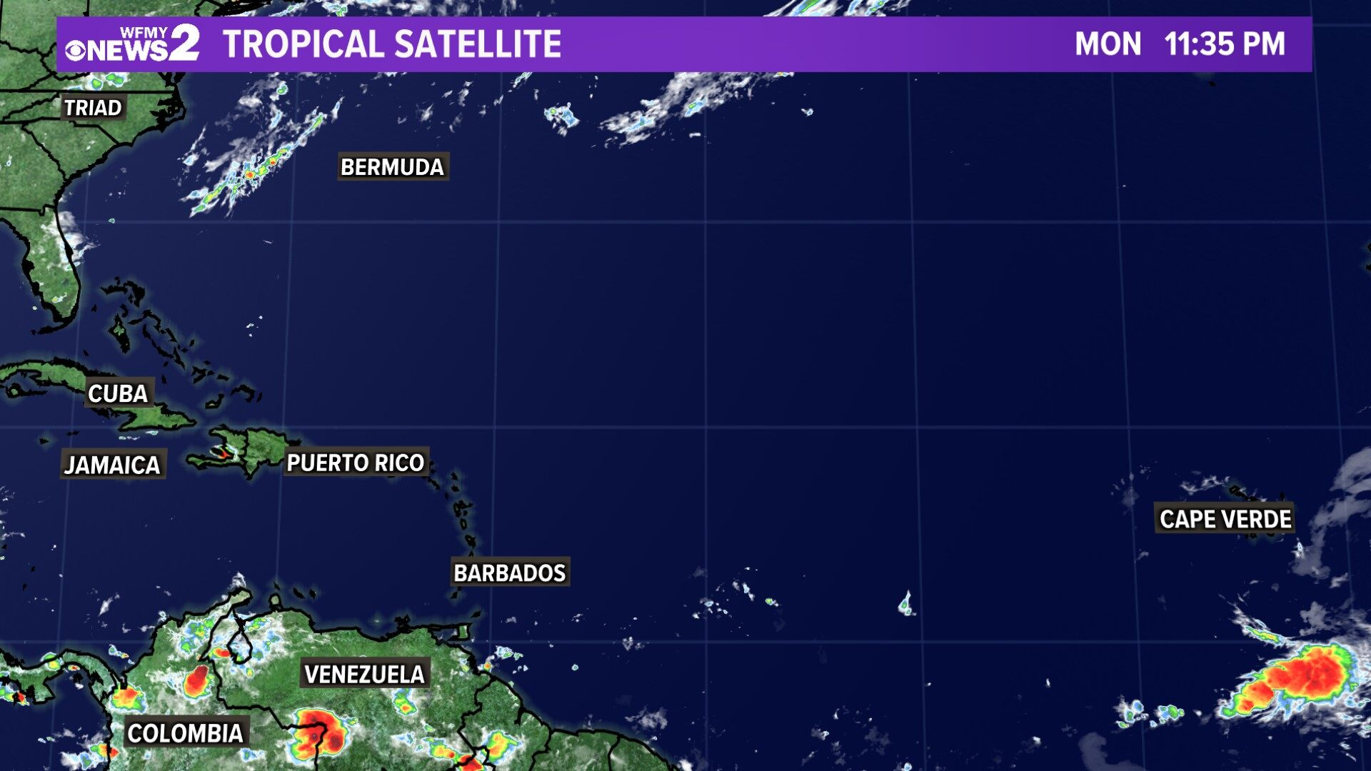 Tropical Satellite Atlantic