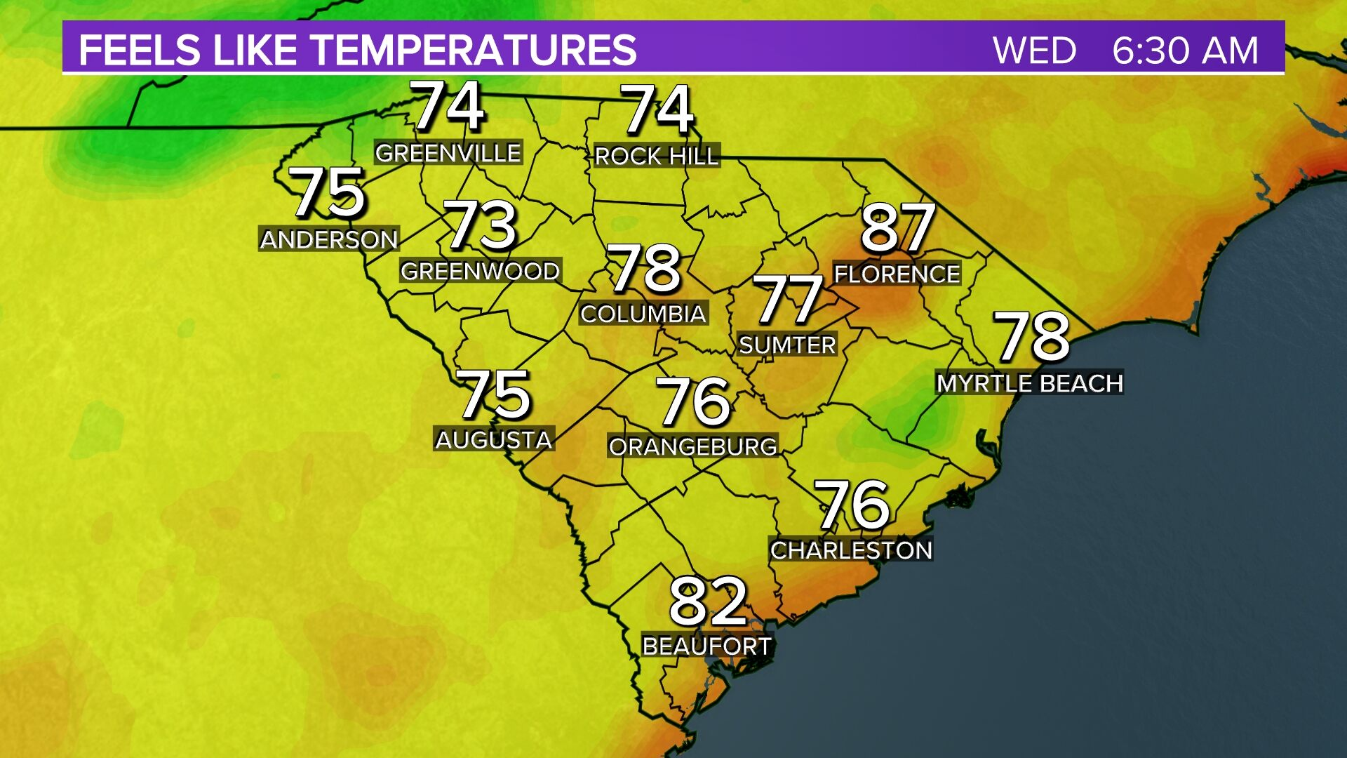 Columbia Weather Forecast And Radars Columbia South Carolina - Doppler radar columbia sc