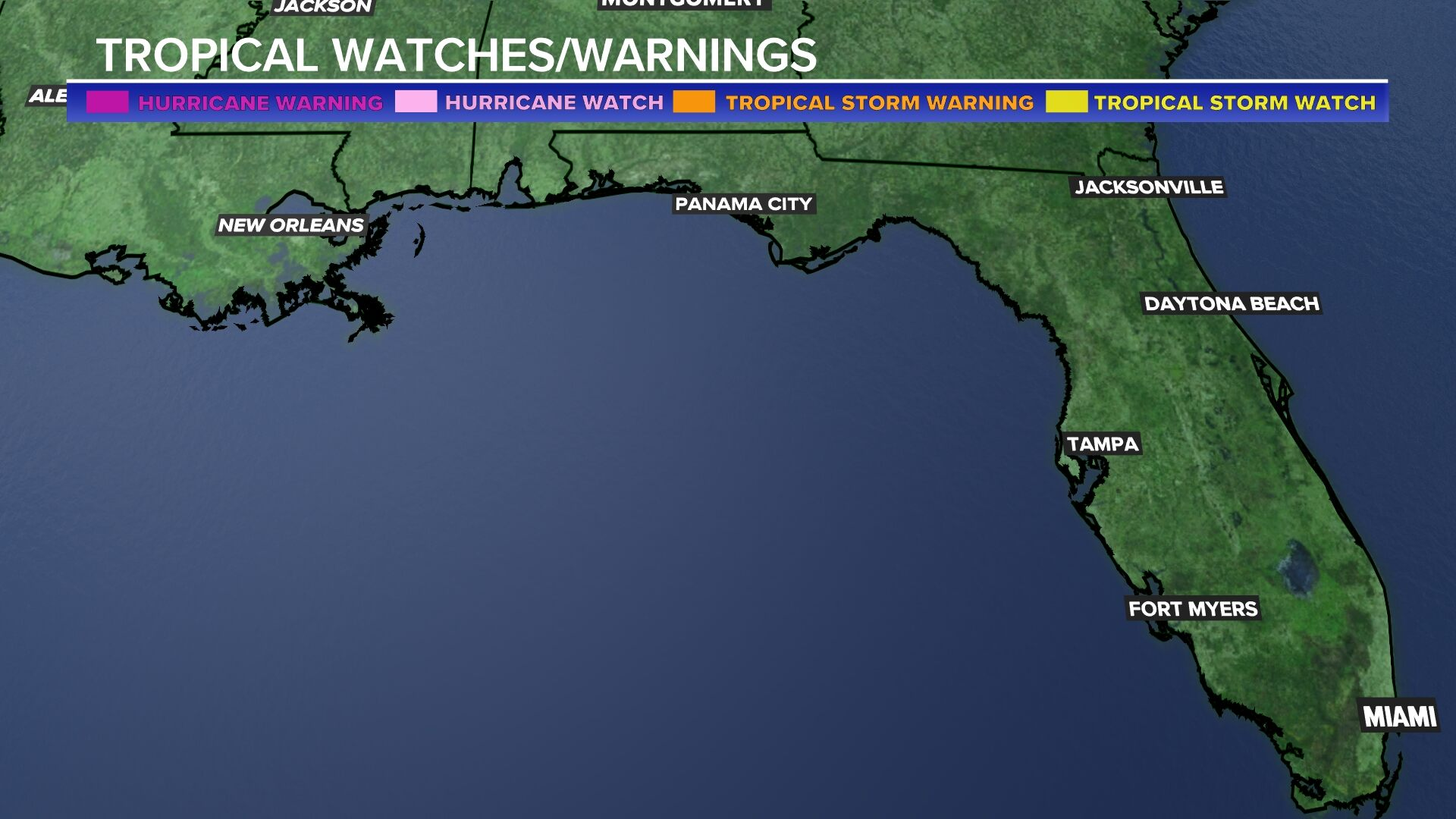Southeast Watches and Warnings