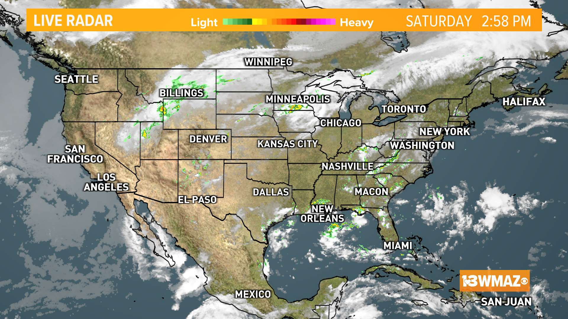 National Satellite Radar