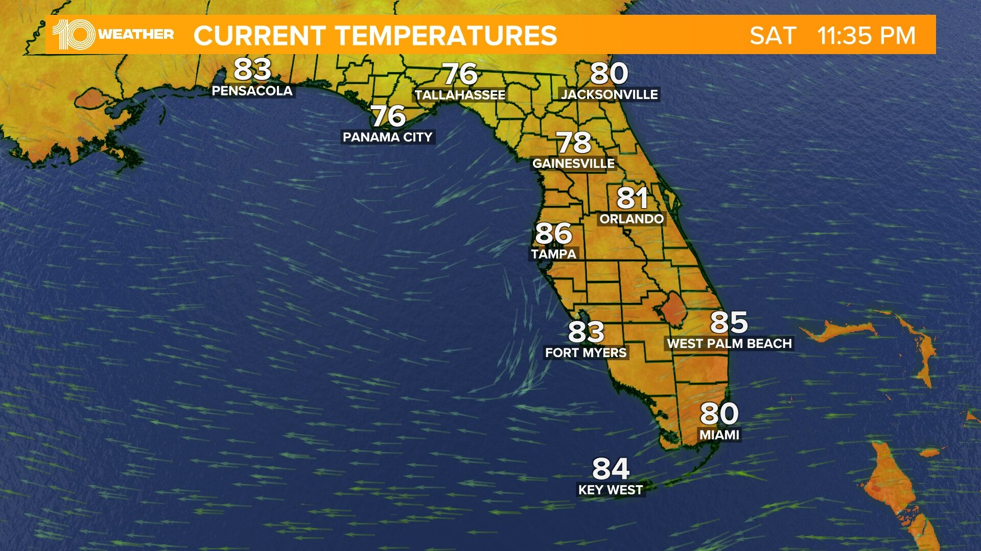 Florida Temperatures