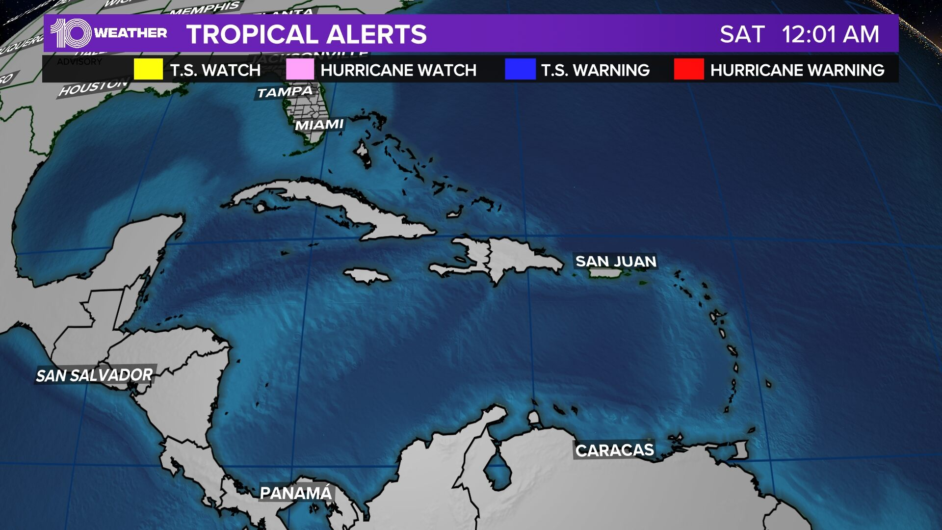 Hurricane Watches and Warnings