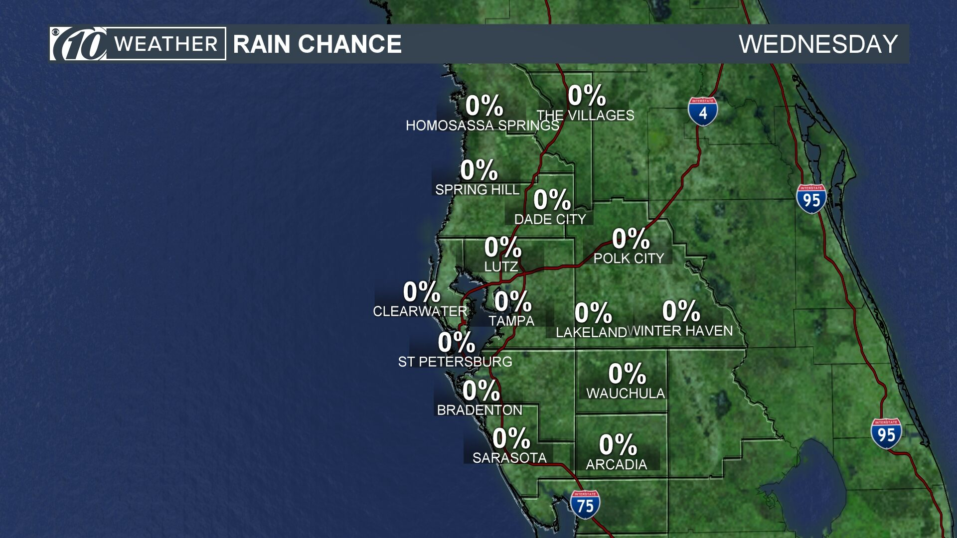 Rain Chance Today