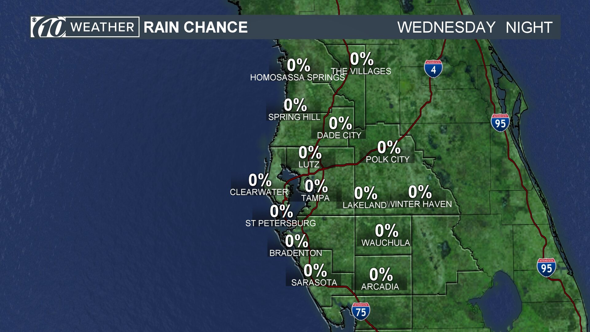 Rain Chance Tonight