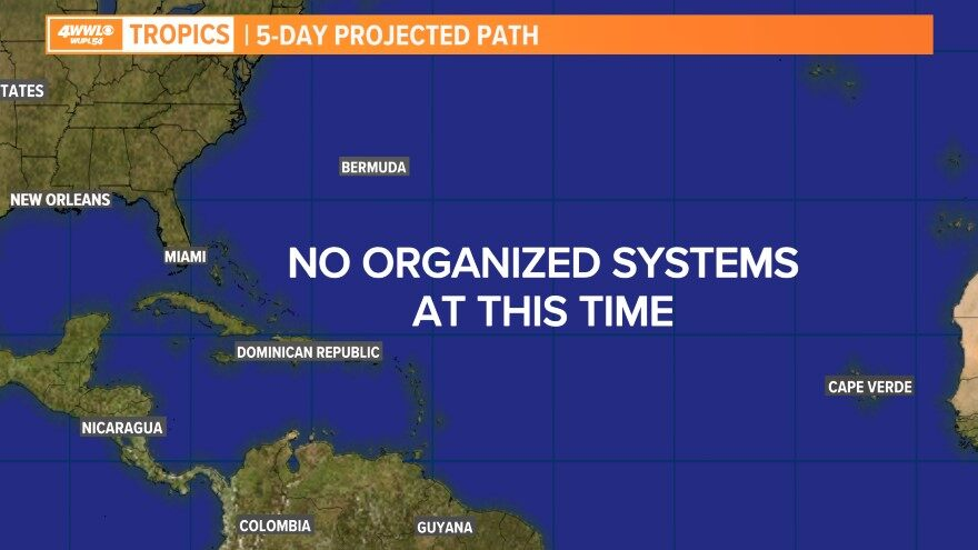 5 Day Projected Path 2