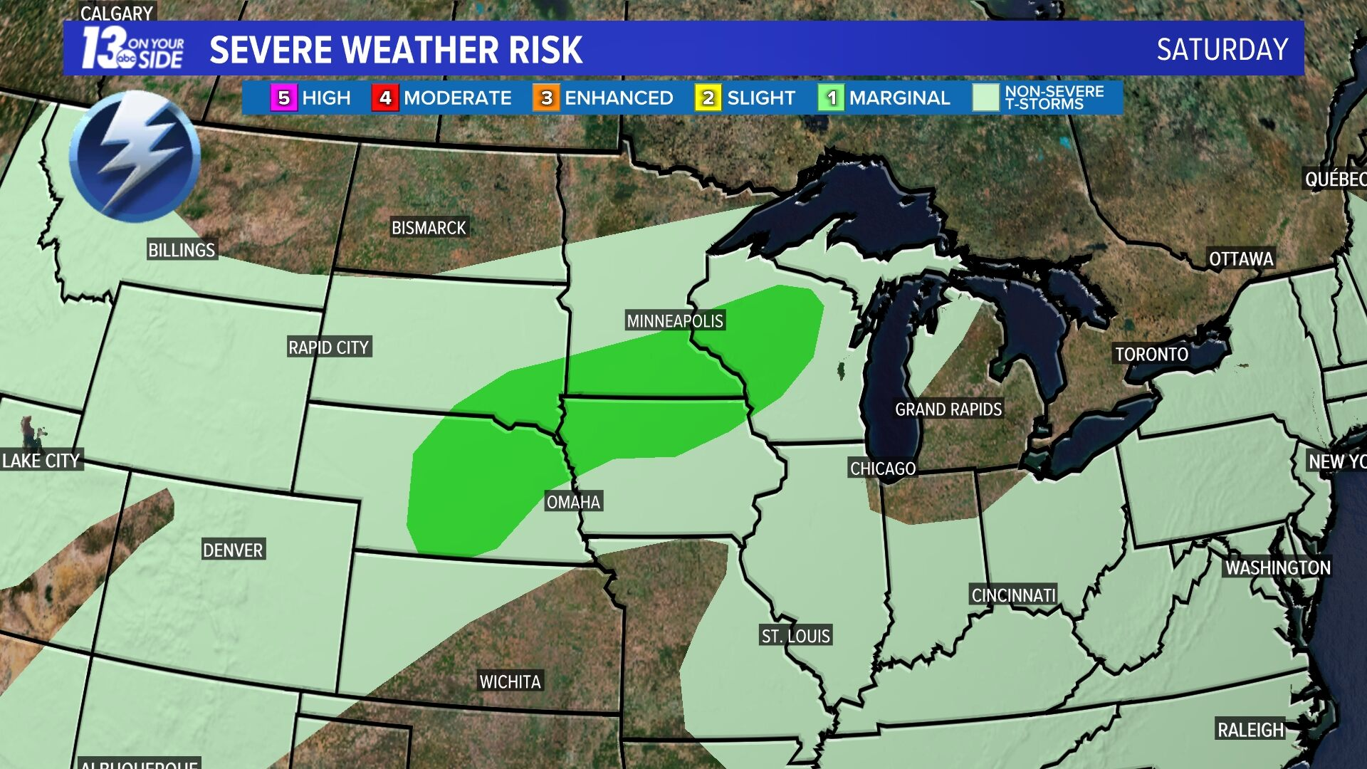 Day 2 Severe Weather Risk
