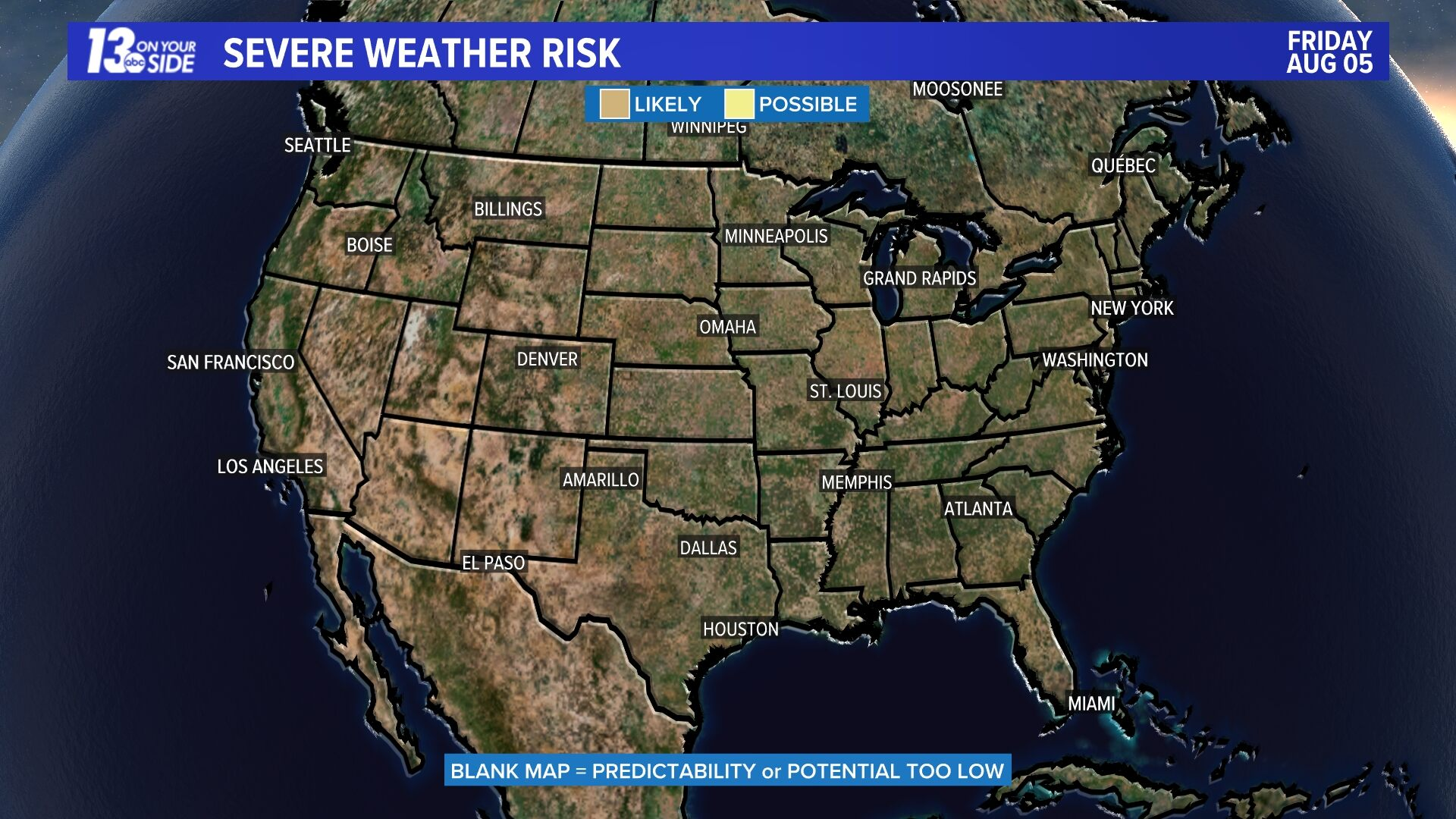 Day 4 Severe Weather Risk