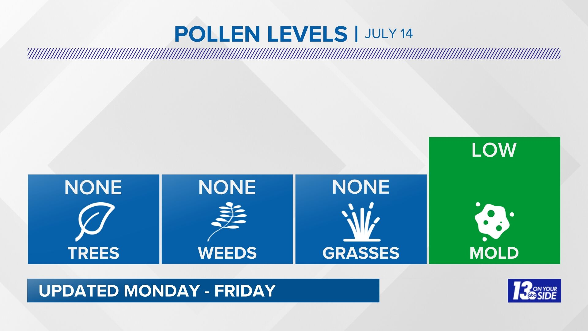 Grand Rapids Pollen Forecast