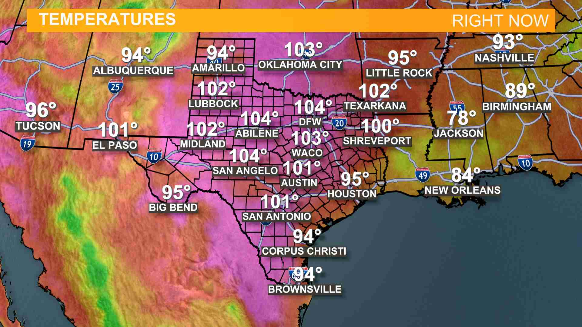 Little Rock Weather Map.Weather Maps On Kcentv In Waco