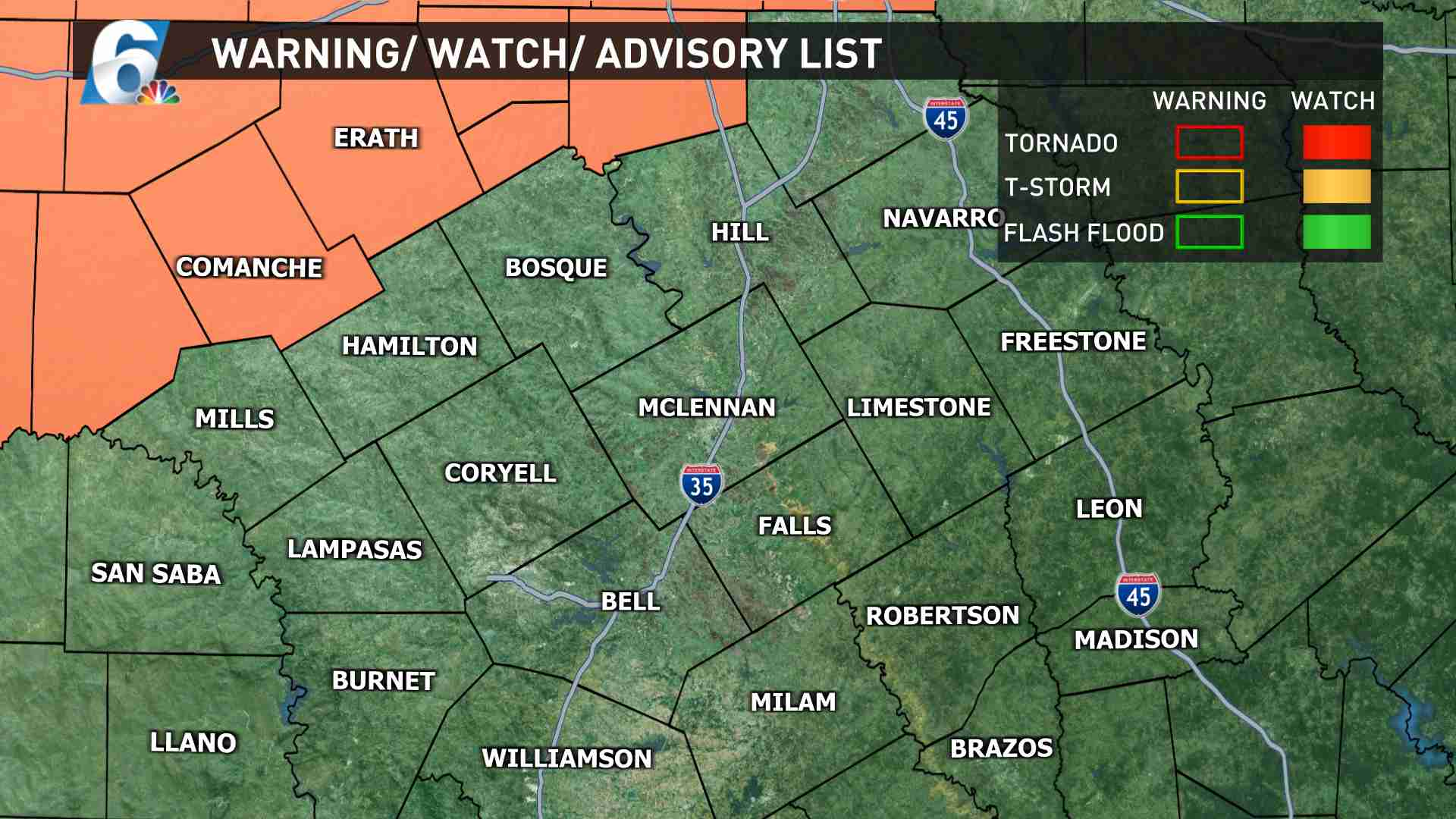 Watches-Warnings-Advisories