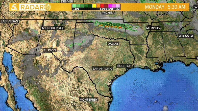 Radar Map Of Texas.V Vcrayzwfir M