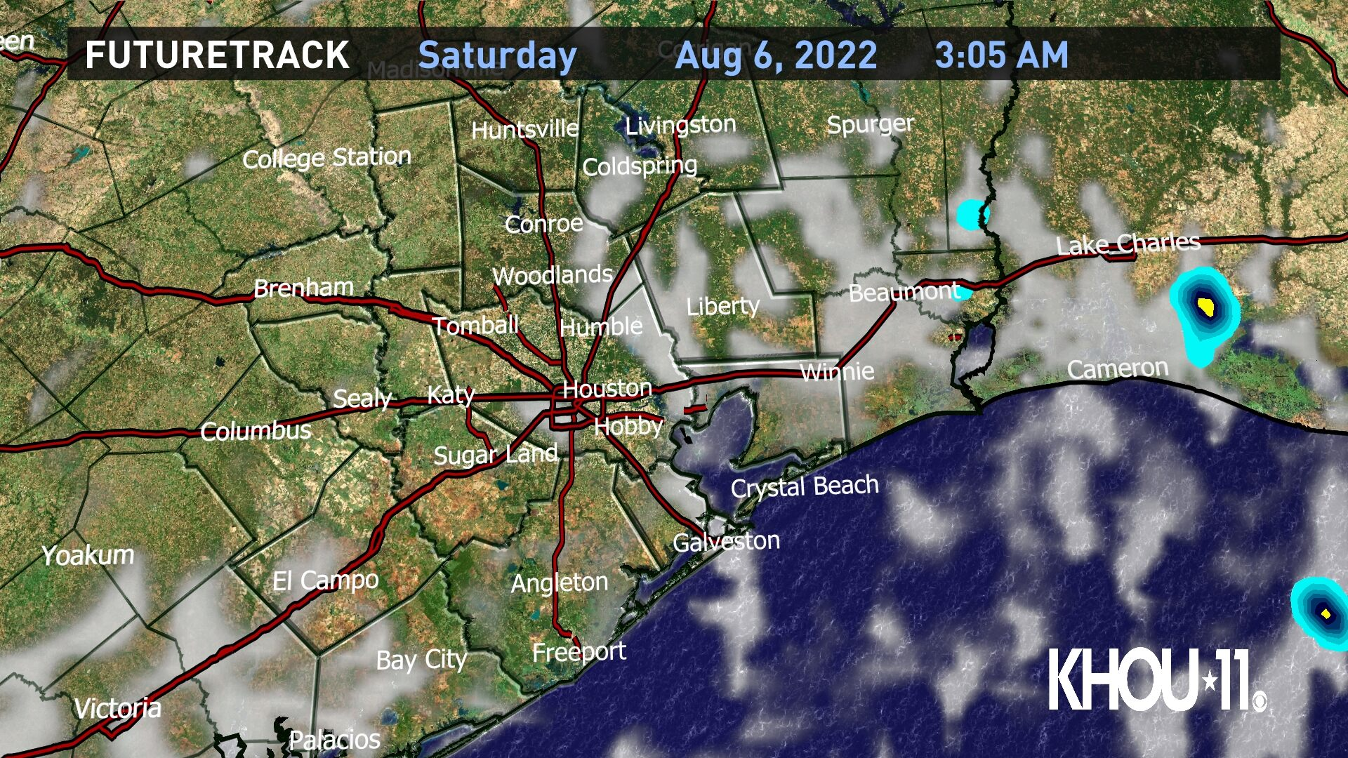 Weather Maps On Khou In Houston