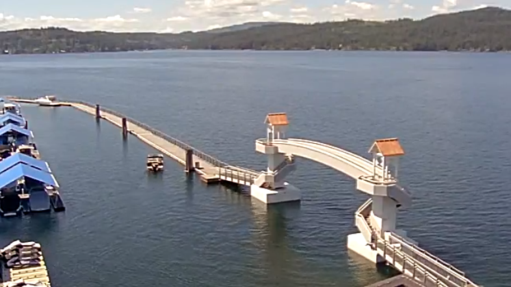 Coeur d'Alene Lake Live Cam- Sponsored by Blue Dog RV