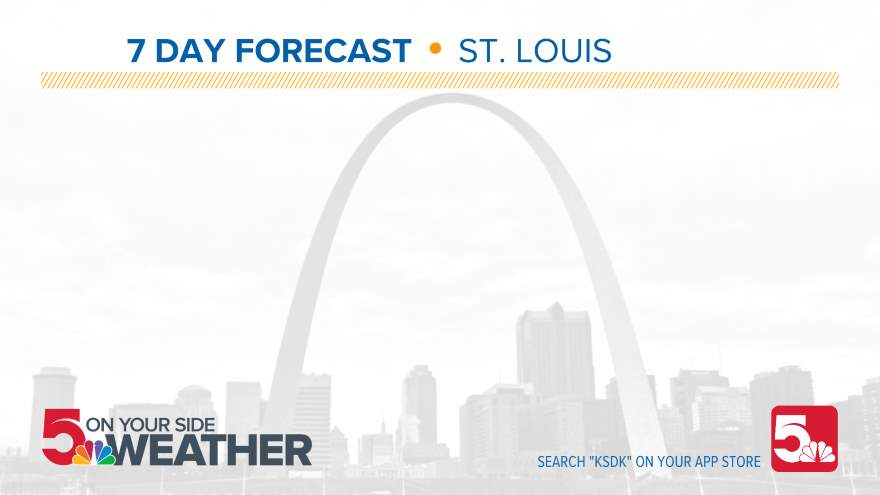 10 Day Forecast on KSDK in St. Louis