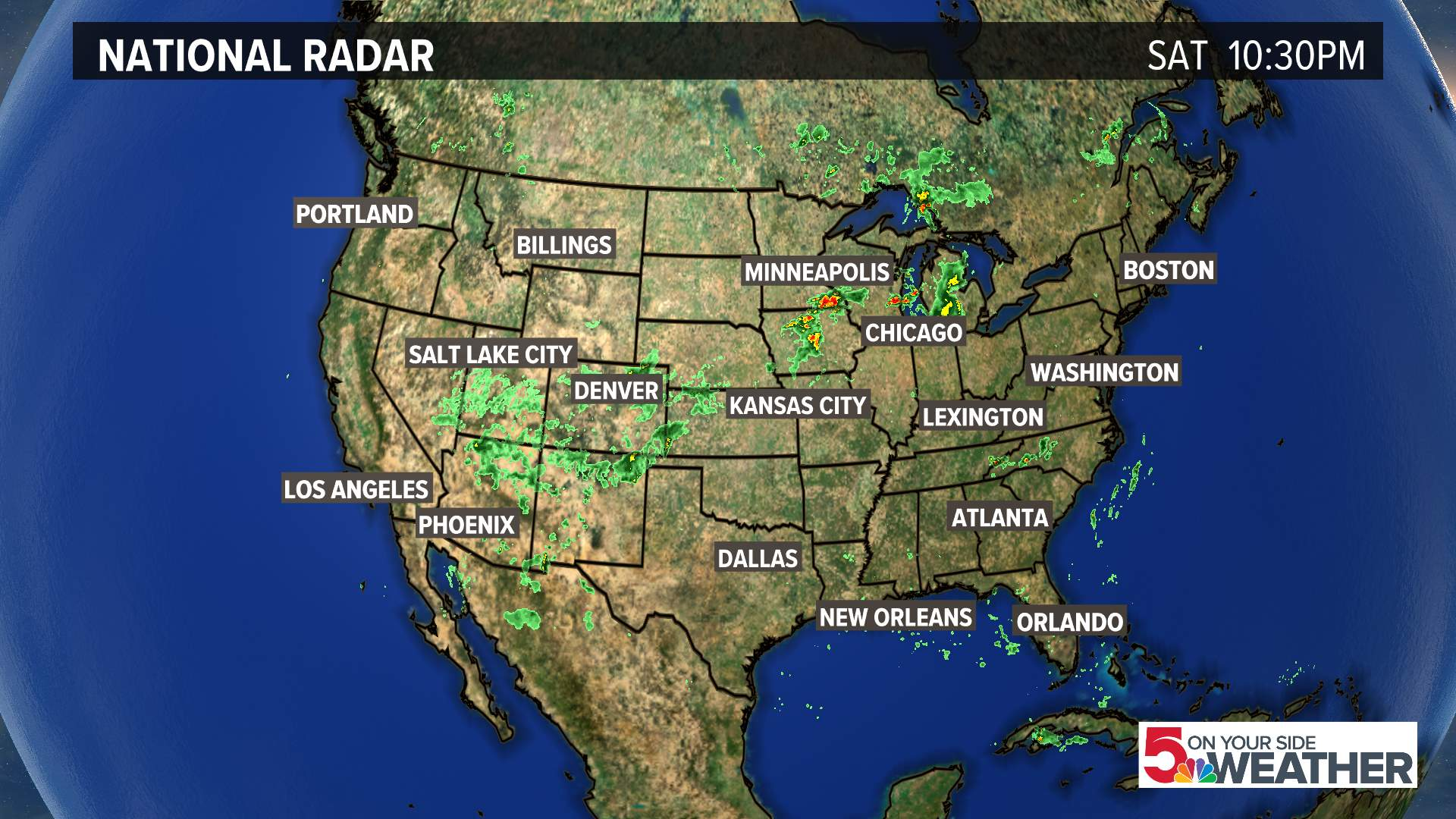 Satellite Weather Map Us.Radar Weather St Louis Ksdk Com
