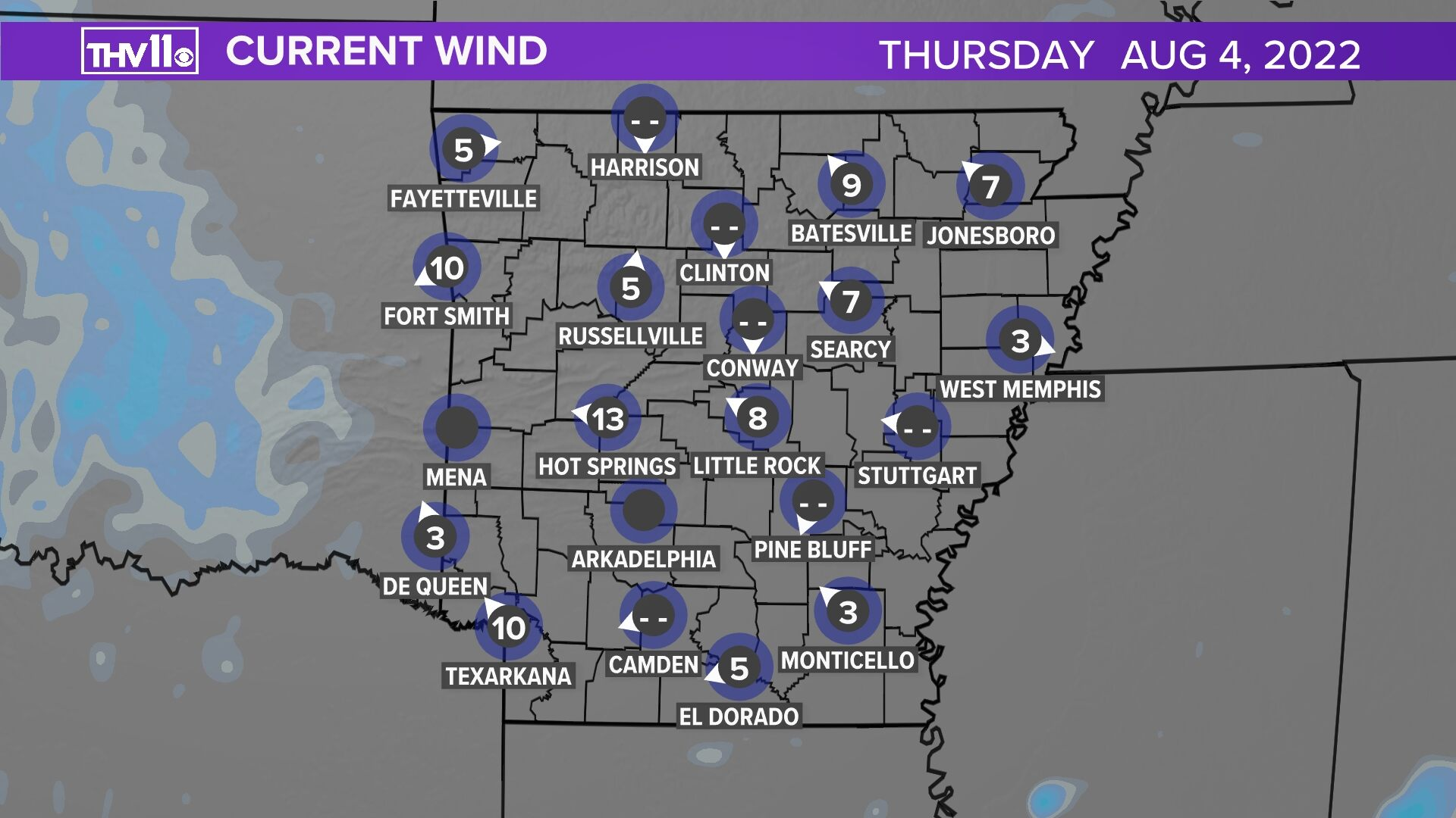 Arkansas Winds