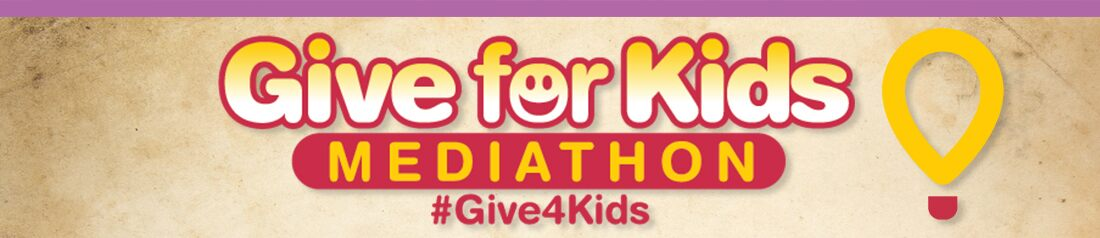 It's the 6th annual UC Davis Children's Hospital Mediathon -  simply text Give4Kids to 51555