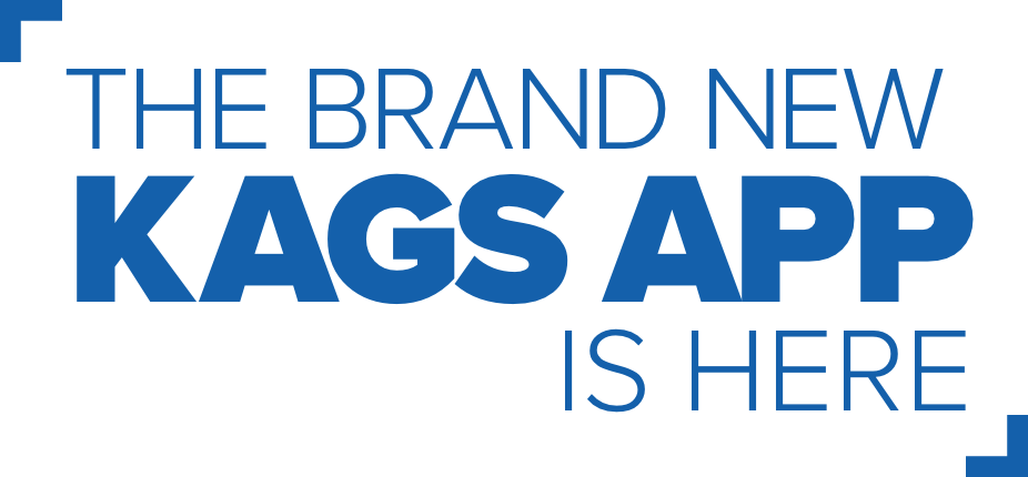 The Brand New KAGS App is Here