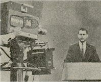 WNEP-TV News Anchor Bob Carroll in 1966
