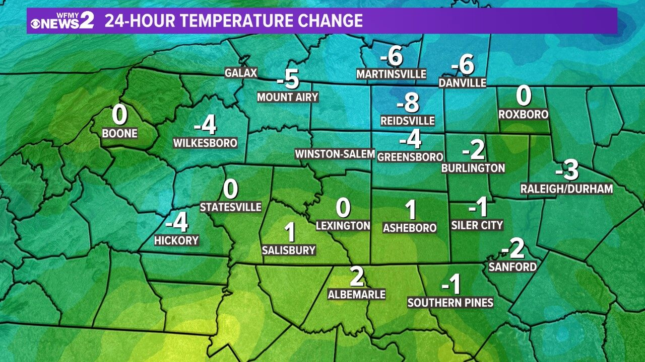 Mount Weather Map.Weather Maps On Wfmy In Greensboro