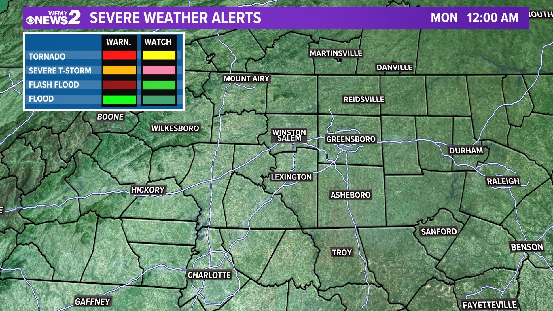 Local Severe Weather Alerts
