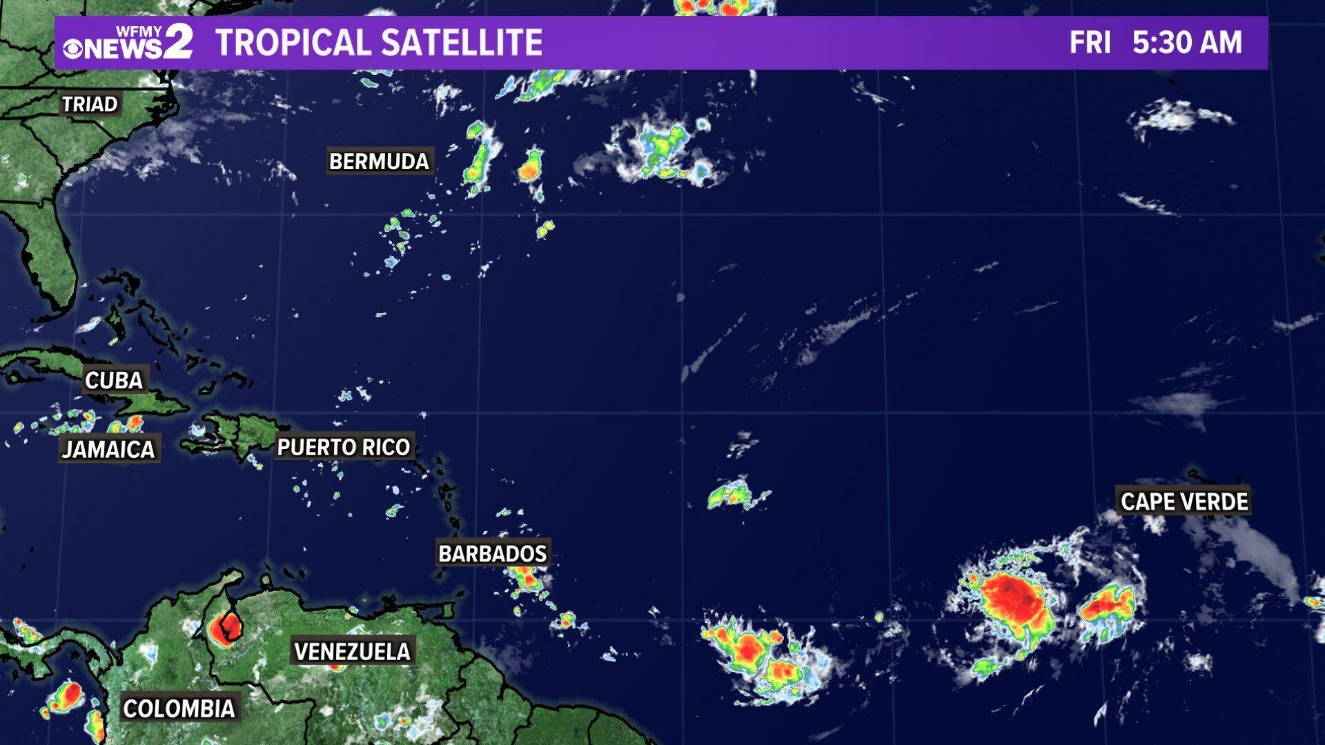 Tropical Satellite Atlantic