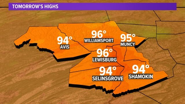 Central PA Highs