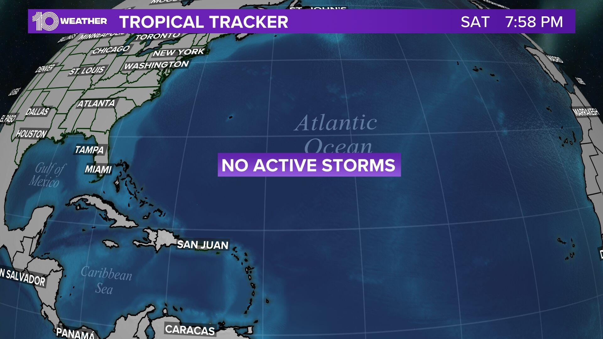 Tropical Depression 10 forms in the Atlantic | wtsp.com