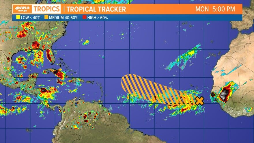 Hurricane From Wwl In New Orleans New Orleans La Wwltvcom - Us-navy-hurricane-tracking-map