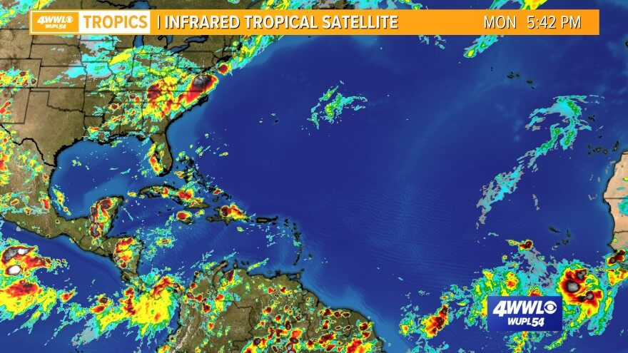Infrared Atlantic Satellite