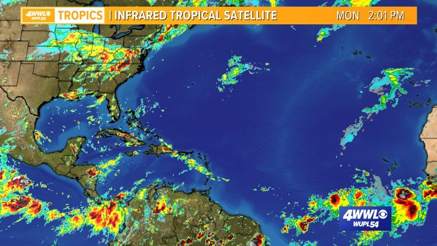 Atlantic Infrared Tropical Satellite