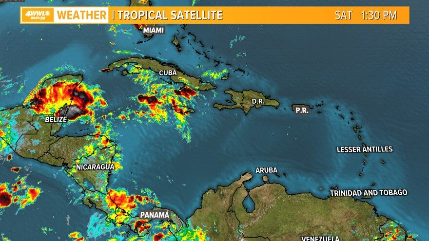 Infrared Tropical Satellite
