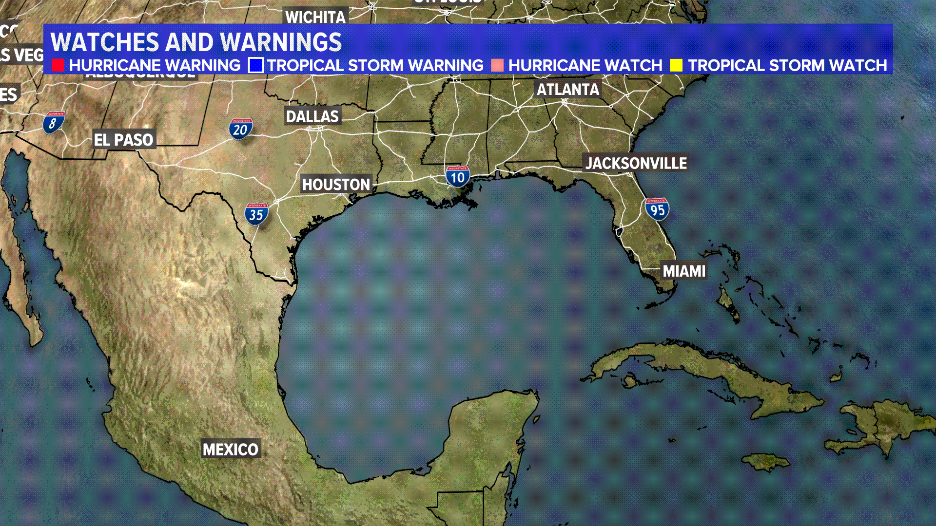 Tropical Watches/Warnings