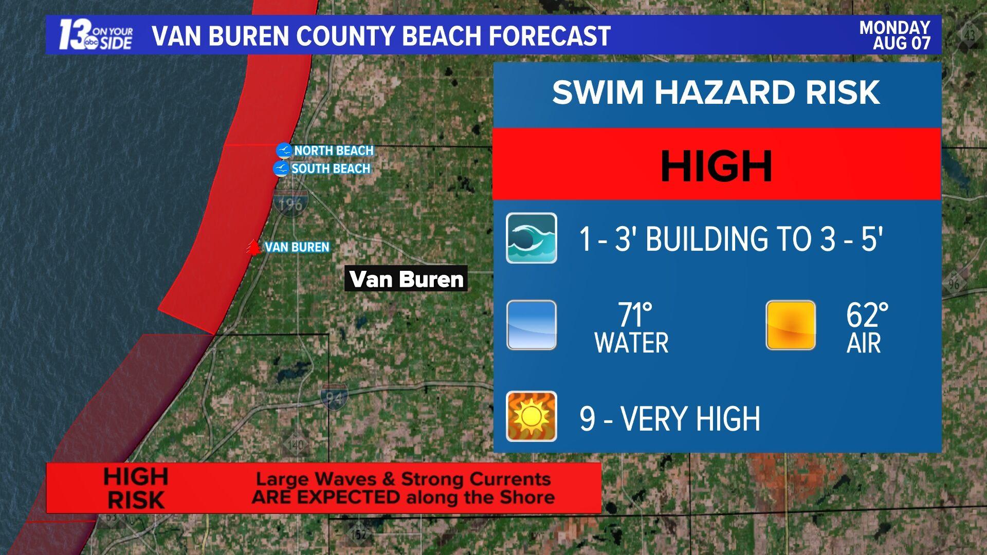 Van Buren County Beaches