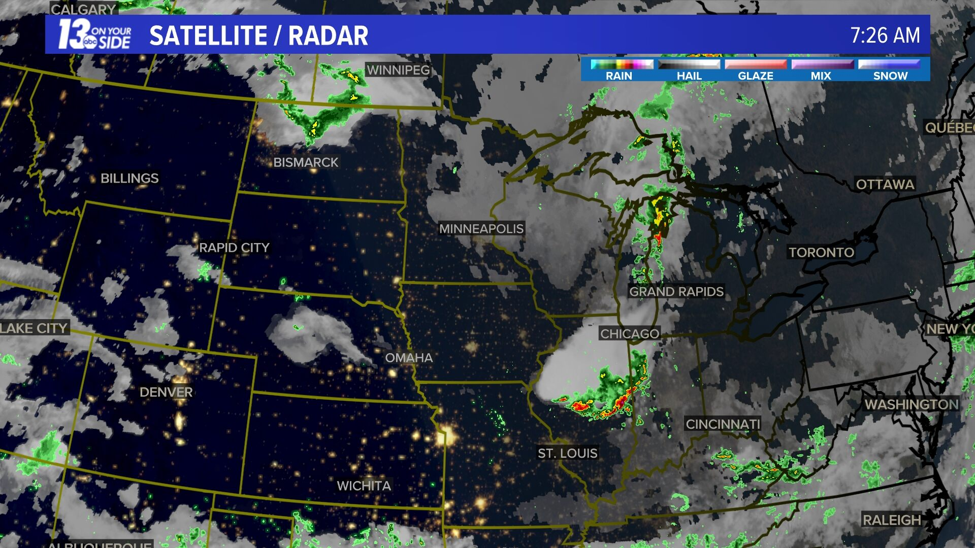 Satellite Radar